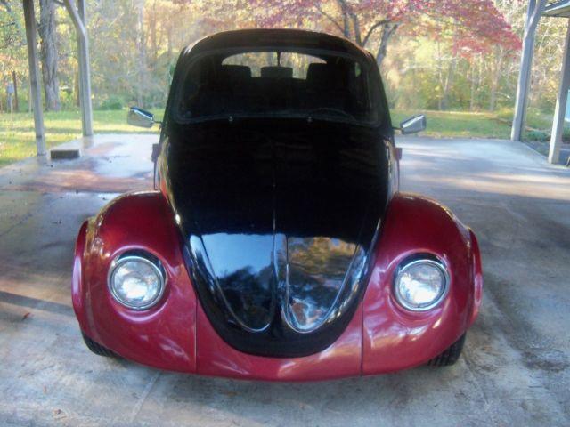 Schematic Wiring Red 1969 Custom Vw Beetle Quot Ol Skool Art Quot Ratrod Hotrod