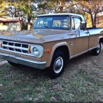 1969 Dodge D100 D200 Pick Up Classic Mopar Pickup Truck Low Miles 64 000 Classic Dodge Other Pickups 1969 For Sale