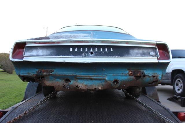 1969 Plymouth Barracuda Hp 340 Formula S A53 B5 Blue Cuda