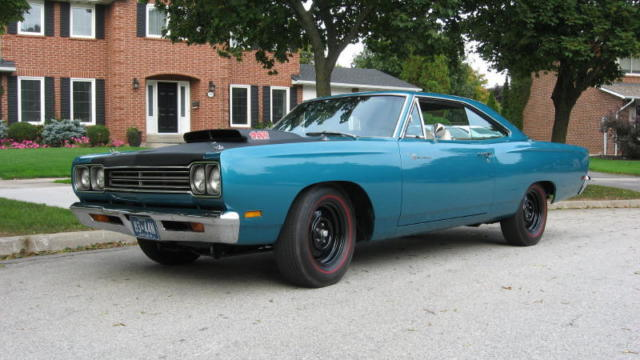 1969 Plymouth Roadrunner A12 Oe Gold Certified Classic Plymouth Road Runner 1969 For Sale