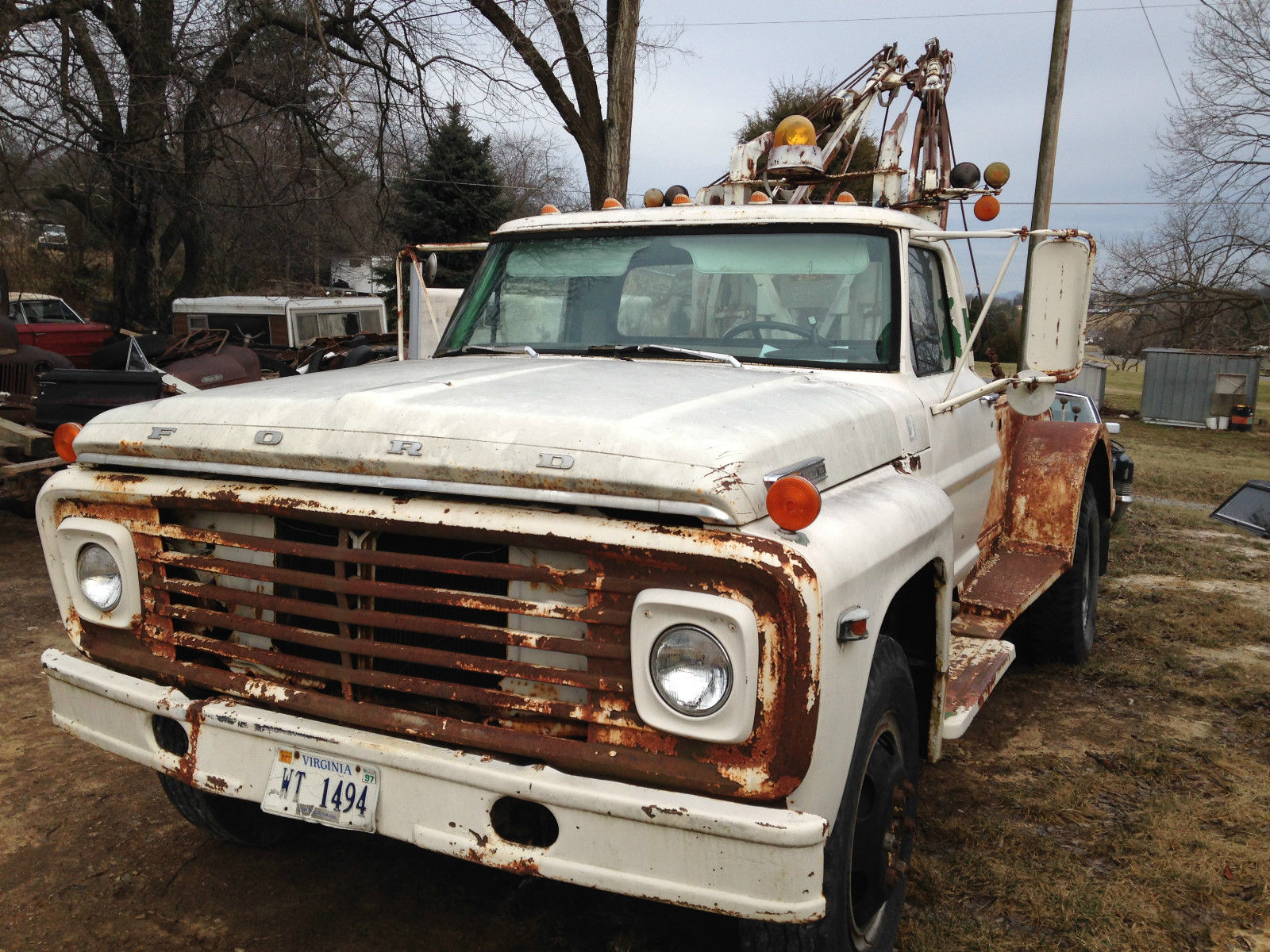 1962 Ford Tow Truck