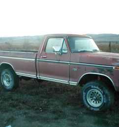 1975 ford f250 4x4 high boy project very solid [ 1280 x 960 Pixel ]