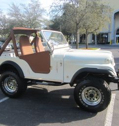 1977 jeep cj fully restored 4x4 6 cyl lifted pearl white clean fl jeep offers  [ 1600 x 1200 Pixel ]