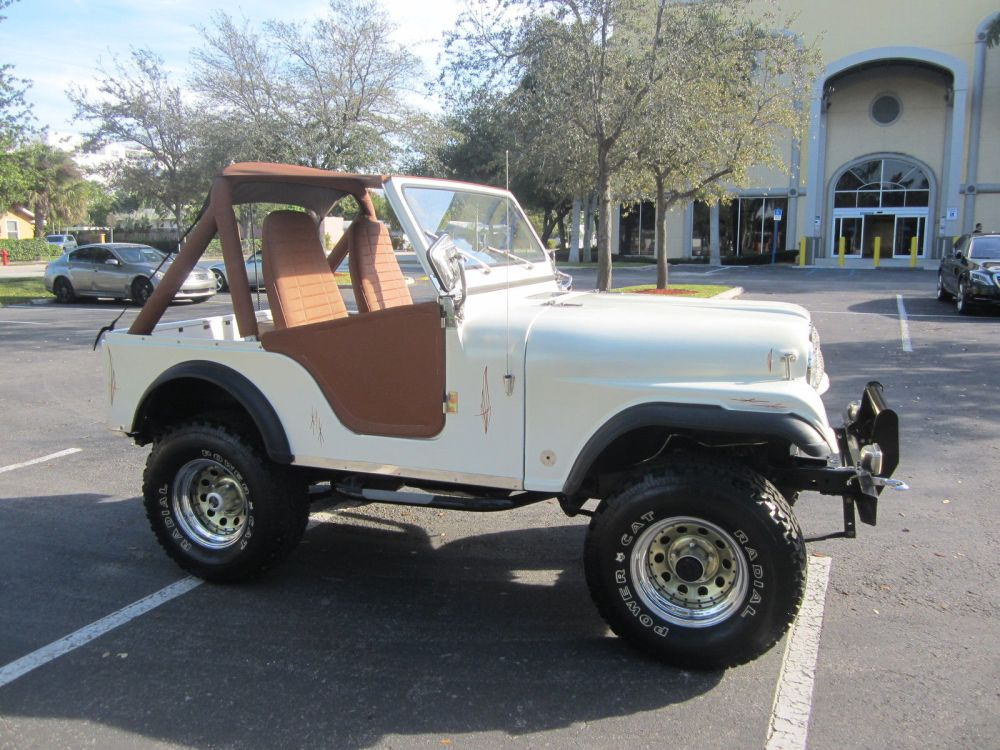 medium resolution of 1977 jeep cj fully restored 4x4 6 cyl lifted pearl white clean fl jeep offers
