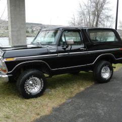Ford F150 Bronco 1975 Tr6 Wiring Diagram 1979 4x4 Xlt Black On Classic Solid