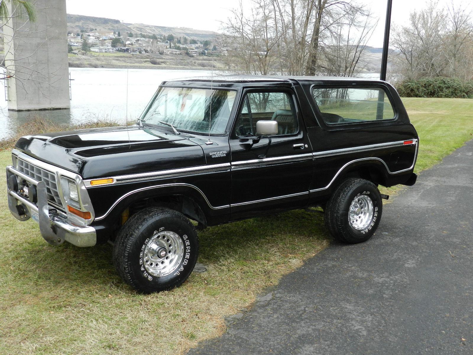 ford f150 bronco 1995 honda civic ac wiring diagram 1979 4x4 xlt black on classic solid