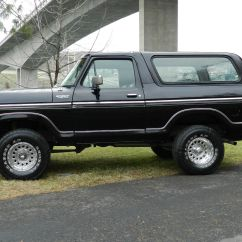 Ford F150 Bronco Honda Cb400 Super Four Wiring Diagram 1979 4x4 Xlt Black On Classic Solid