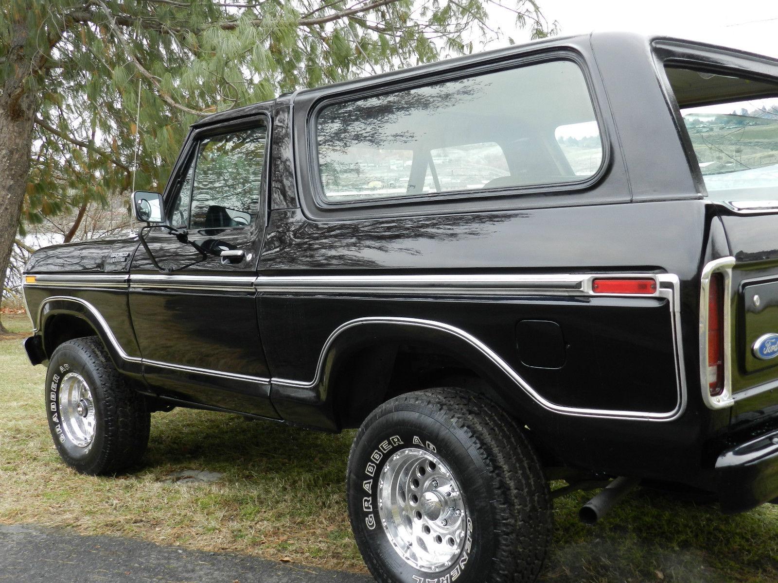 ford f150 bronco wiring diagram kia carnival 1979 4x4 xlt black on classic solid