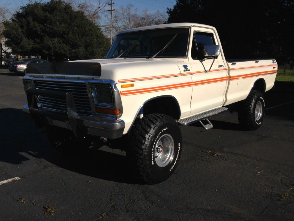 medium resolution of 1979 ford f 150 4x4 explorer lifted longbed pickup very nice