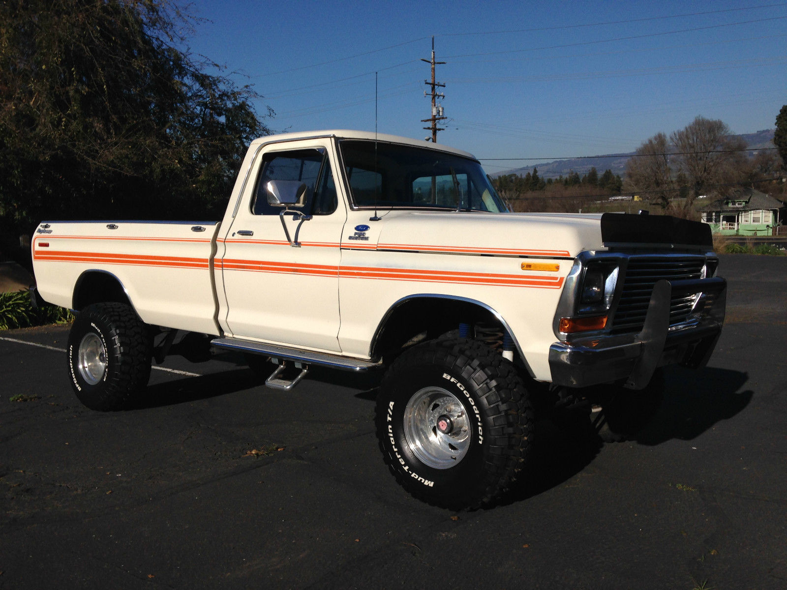 hight resolution of 1979 ford f 150 4x4 explorer lifted longbed pickup very nice