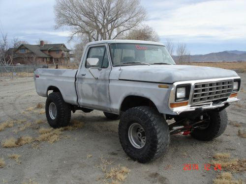 small resolution of 1979 ford f150 short bed 4x4 running project rare lifted