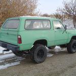 1980 Dodge Ramcharger Convertible Ht Big Block 4spd Dana60 S W Lockers Mopar Classic Dodge Power Wagon 1980 For Sale