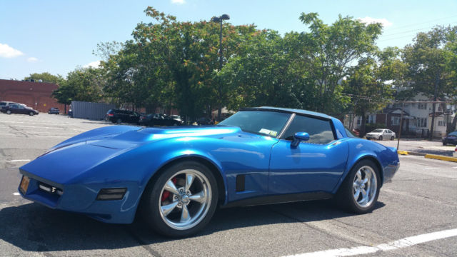 1981 Chevrolet Corvette C3 Totally Custom 355ci 6 Speed Manual All New Parts Classic
