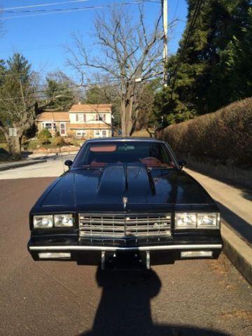 1983 Monte Carlo : monte, carlo, Chevrolet, Monte, Carlo, Coupe, 2-Door, Carlo), Classic