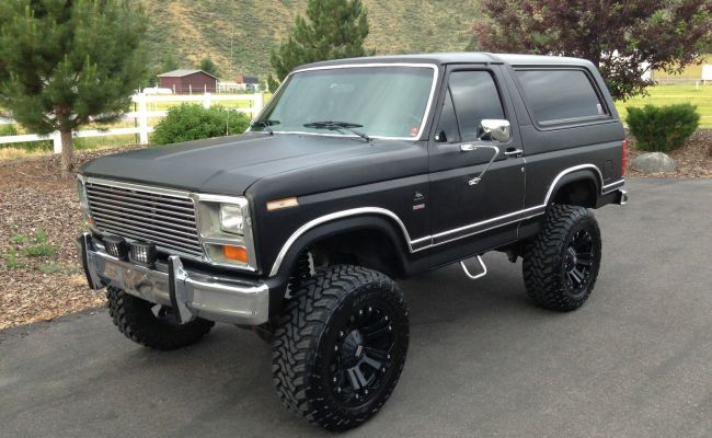 1983 Ford Bronco Xlt Fuel Injected 351 Classic Ford