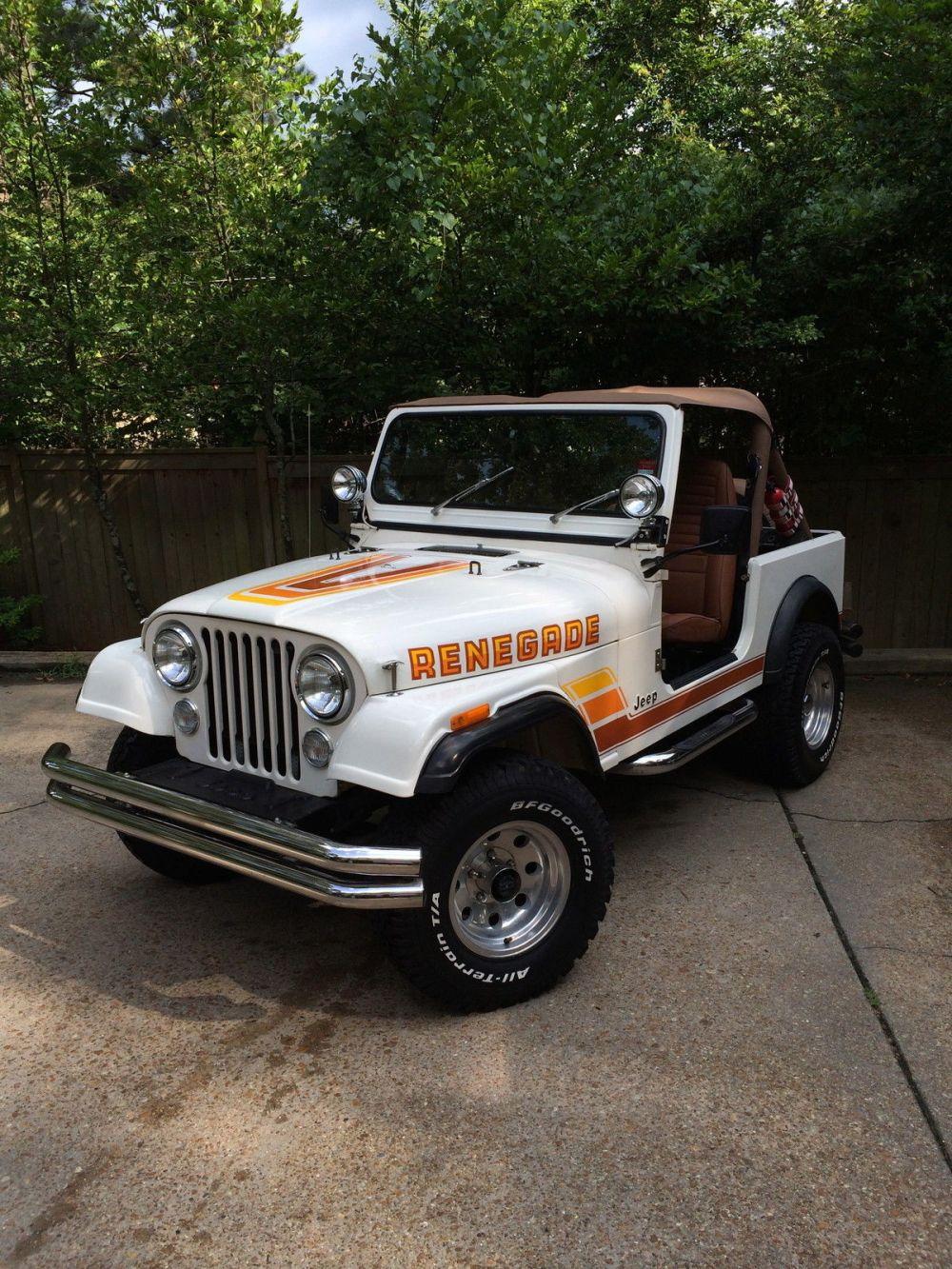 medium resolution of 1984 jeep cj7 a c and hardtop make offer renegade cj 7