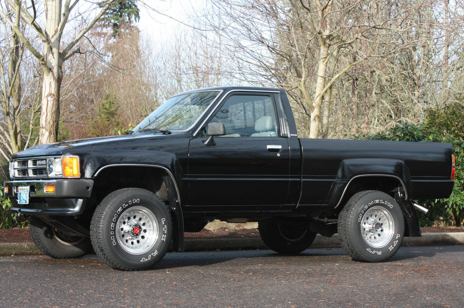 hight resolution of 1987 toyota pickup short bed 4wd 22r 5 spd