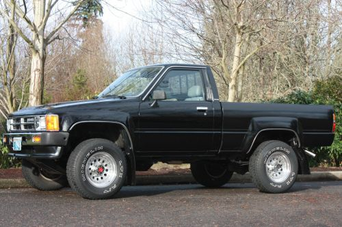 small resolution of 1987 toyota pickup short bed 4wd 22r 5 spd