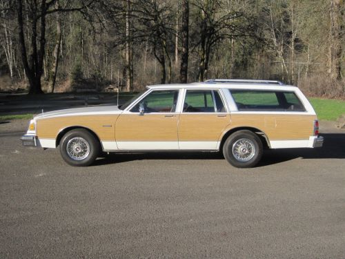 small resolution of 1988 buick lesabre estate wagon woody station 3rd seat stationwagon clean nice