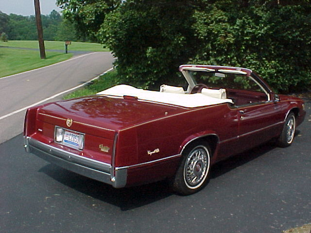 1989 Cadillac Deville Custom Convertible  Classic