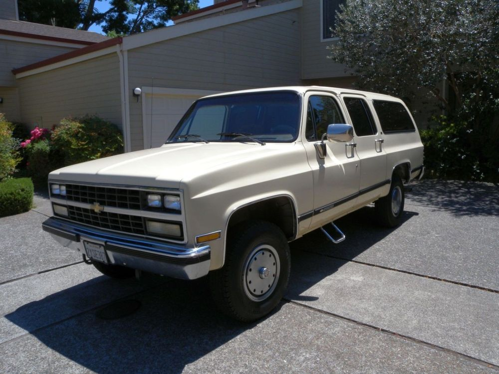 medium resolution of 1989 chevrolet suburban silverado 2500