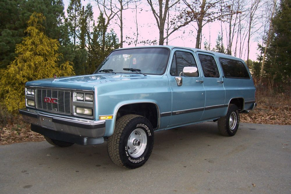 medium resolution of 1989 gmc suburban