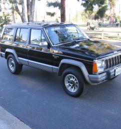 1989 jeep cherokee laredo 4x4 rare garaged babied 138k driving mi 2nd owner nr [ 1024 x 768 Pixel ]