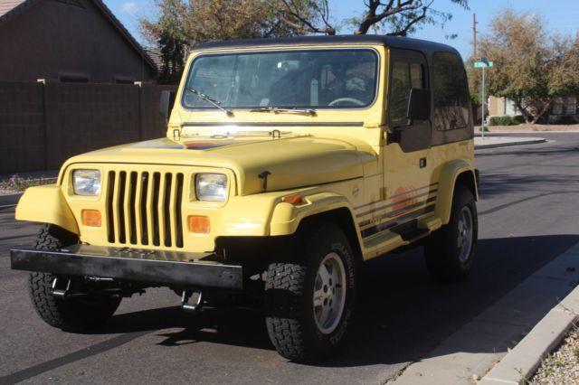 Jeep Wrangler Islander Sport Utility 2 Door 4 2l