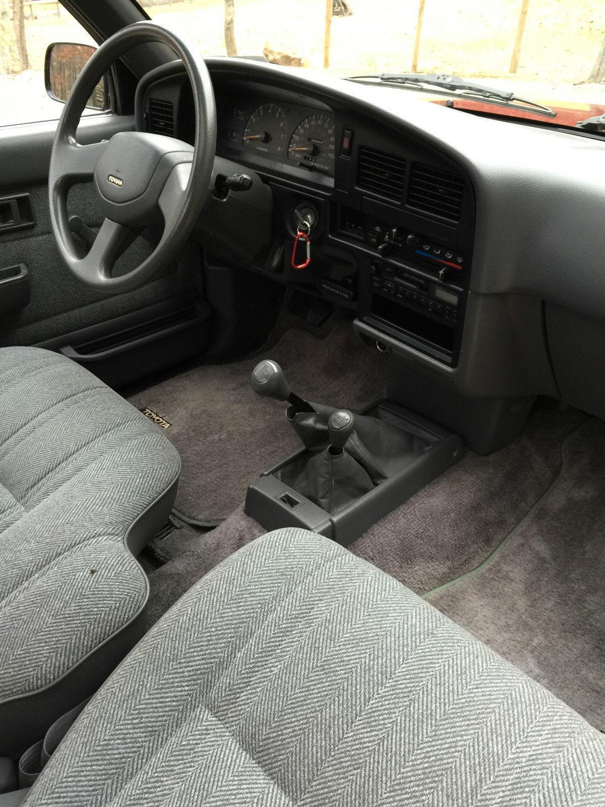 1989 TOYOTA SR5 PICKUP PRE TACOMA EXTRA CAB MANUAL