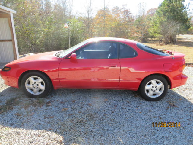 1990 Toyota Celica Gt S Red Great