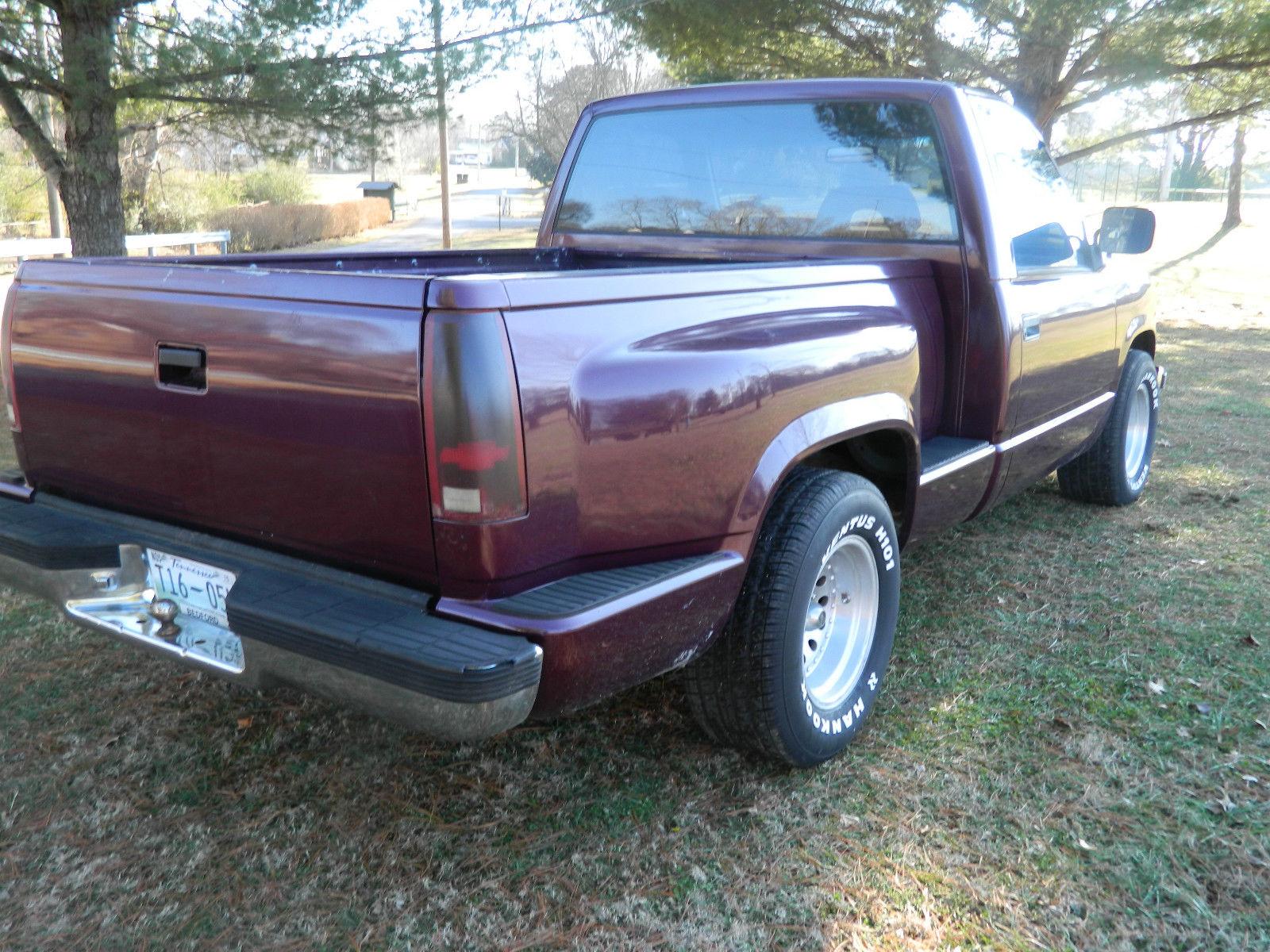hight resolution of 1992 chevrolet silverado 1500 stepside shotbed nice wheels new tires