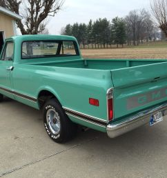 69 2wd pickuptruck classic show original motor transmission 305 v6 light green 1969 gmc other 1500 [ 1600 x 1200 Pixel ]