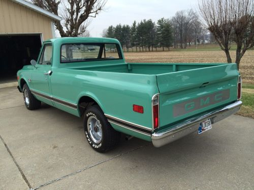 small resolution of 69 2wd pickuptruck classic show original motor transmission 305 v6 light green 1969 gmc other 1500