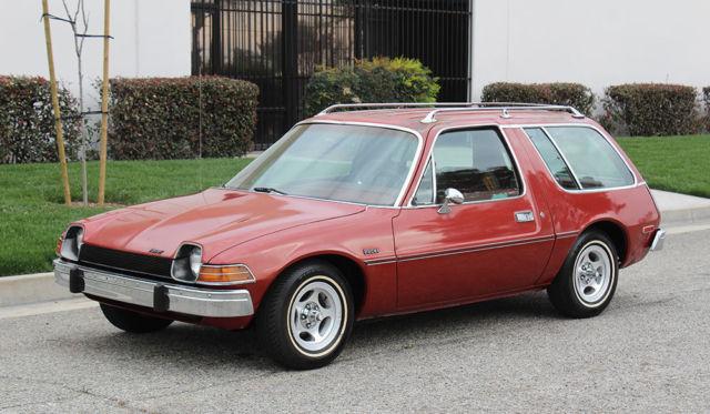 California Original Amc Pacer Wagon One Owner 100 Rust