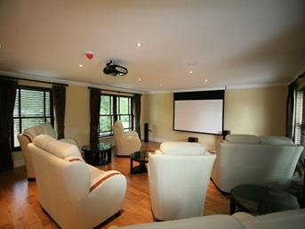 Garage Conversion Ideas Cinema Room Sm Construction Sheffield Builder