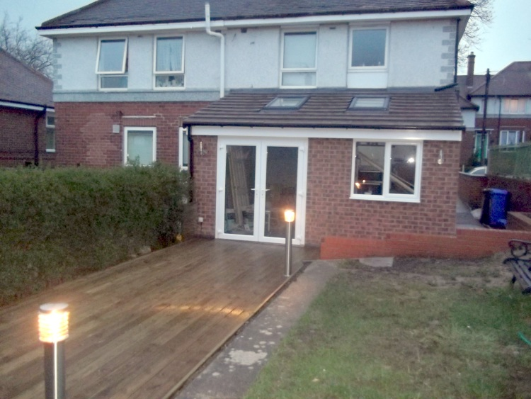 Single Storey Extension  SM Construction  Sheffield Builder