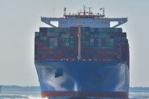 Aankomst Cosco Shipping Universe 23-07-'18-22