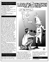 """For occasional introductory pieces, I fell back on the style of DC Comics' """"Who's Who"""" entries; this was my second one, from March 2001."""