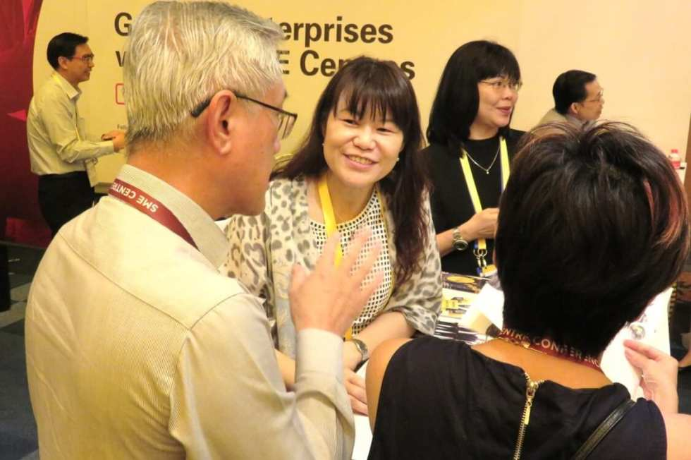Advisory at ESG and SME Centres Booth