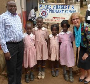Wendy in Uganda 2013