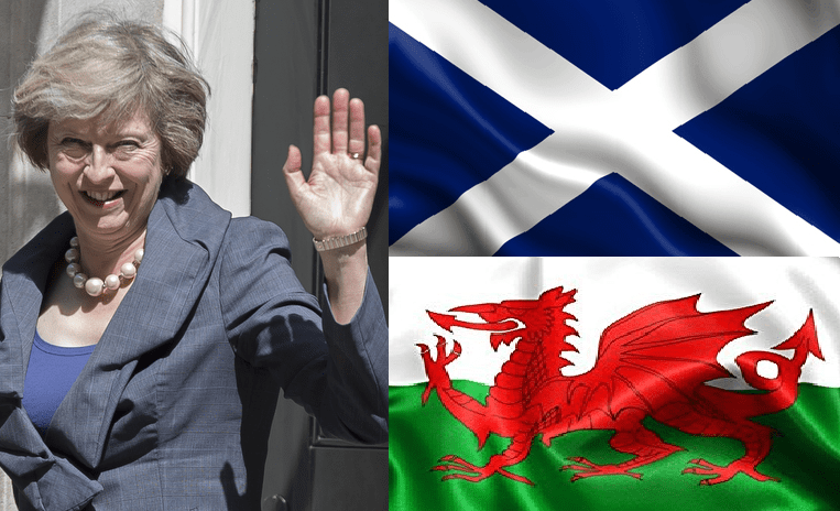 The Conservatives have imposed 'direct rule' over the Scottish and Welsh parliaments   The Canary