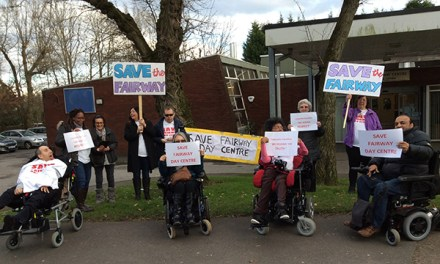 Service users fight Labour council's plans to close their adult day care centre