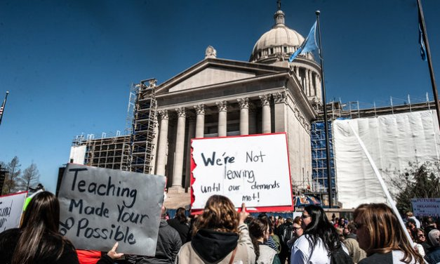 The Red-State Teacher Revolt Has Been Brewing For Decades