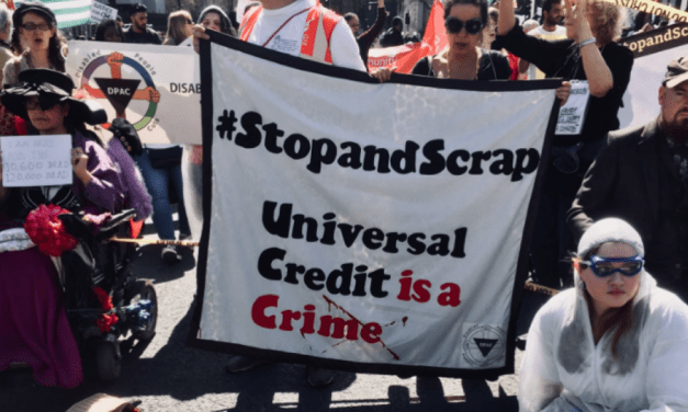 Welfare: Protest erupts over universal credit disaster | Morning Star