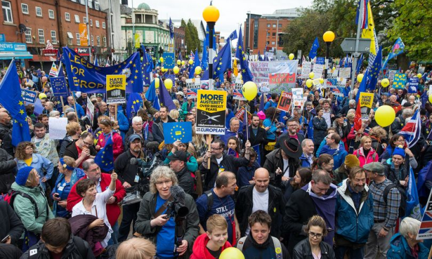 Thousands of protesters will descend on Manchester for anti-austerity and 'Reject Brexit' marches this weekend – Manchester Evening News