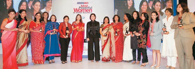 Business Today honours the most powerful women in Indian business - Business  News