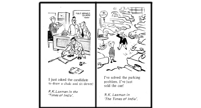 10 'Common man' sketches by R K Laxman you shouldn't miss