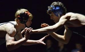 Gallery: Varsity Boys' Wrestling vs. Blue Valley West