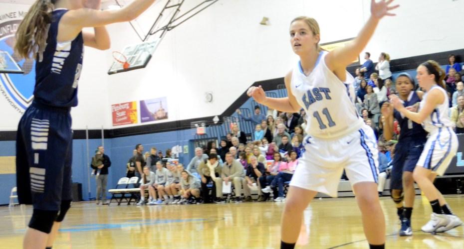 Gallery: Girls' Basketball vs. Blue Valley North