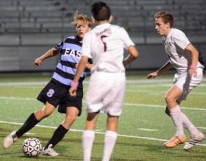 Gallery: Varsity Boys' Soccer vs. Olathe East